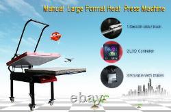 23.6 x 31.4 6000W Large Format T-shirt Sublimation Heat Press Machine
