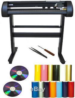 24 500g Laser Dot Tshirt Heat Press Transfer Vinyl Cutter Plotter, Sign, Decal, PU
