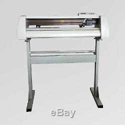 24 Cutting Plotter Vinyl Cutter Sign Making Machine Cutting size 630mm GJD-720