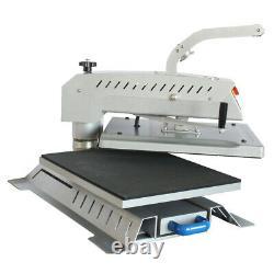 2400W 16 x 20 Swing Away Flat T-shirt Heat Press Machine Sublimation Transfer