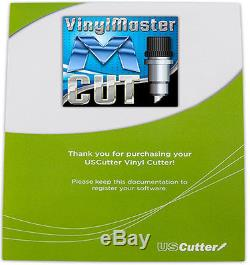 25 USCutter LaserPoint II Vinyl Cutter Design & Contour Cut withVinylMaster Cut