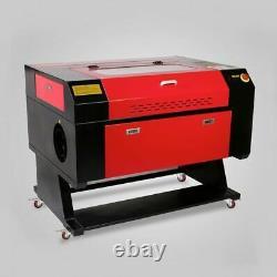 28×20 80W Co2 Laser Engraver Cutter Engraving Machine Ruida DSP Red Dot