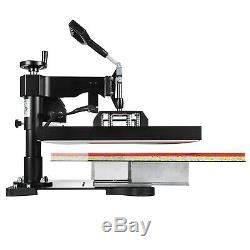 2IN1 Combo T-Shirt Heat Press Transfer 15x15 Printing Machine Swing Away