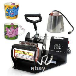 2in1 Digital Display Heat Press Transfer Sublimation Machine for Cup Coffee Mug