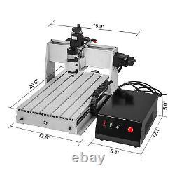 3 Axis CNC Router 3040 Engraving Milling Machine Engraver 6061 Aluminium Alloy