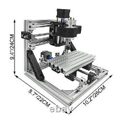 3 Axis DIY CNC 1610 Wood Engraving Carving PCB Milling Machine Router Engraver
