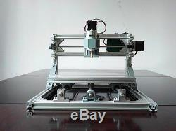 3 Axis DIY CNC 24x18cm CNC Router Kit PCB Milling Wood Carving Engraving Machine