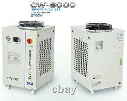 300 Watt CO2 LASER Cutting Machine 4x8 Metal And Non Metal, with cooling system