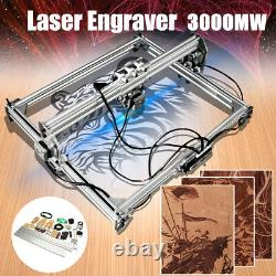 3000MW 65x50cm Laser Engraver Cutter Desktop Engraving Logo Printer