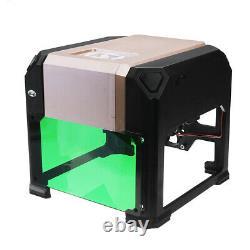 3000MW CNC Laser Engraving Cutting Machine Engraver Cutter DIY Logo Mark Printer