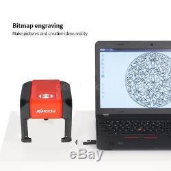 3000mW High Speed Laser Engraving Machine USB DIY Carving Wood Burning Tool CE