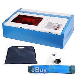 300x200mm 12 x8 40W USB Laser Engraving Cutting Machine Engraver & Cutter