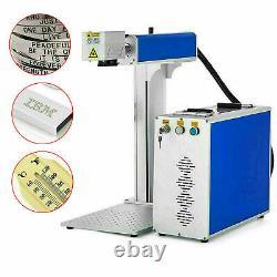 30W 110V Fiber Laser Marking Machine Metal Engraving Engraver High Precision