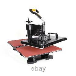 30X38cm 12X15 Swing Away Sublimation Transfer Heat Press Machine For T-Shirt
