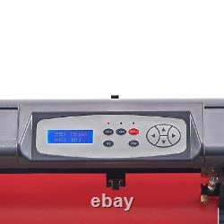 31in/sec Vinyl Cutter Machine 28in Feed Sign Maker w SignMaster Digital Controls