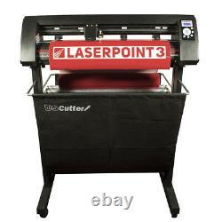 34 LaserPoint 3 Vinyl Cutter withARMS + 15 x 15 Digital Swing Arm Heat Press