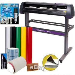 34 USCutter Vinyl Cutter Kit Best Value Sign Cutting Making withVinylMaster Cut