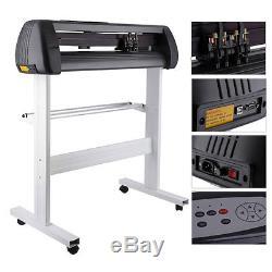 34 Vinyl Cutter Machine Software Vinly Sign Plotter Great Starter Bundle Kit AL