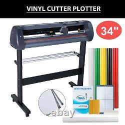 34 Vinyl Cutter Plotter Cutting Sign Maker Graphics Handicraft Wide Format
