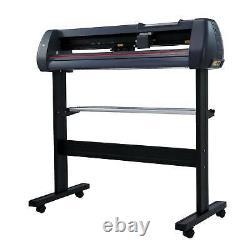 34 Vinyl Cutter / Plotter Sign Cutting Machine w. Software+3 Blades&LCD screen