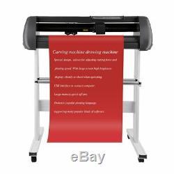 34 Vinyl Cutter / Plotter, Sign Cutting Machine withSoftware + Supplies USA