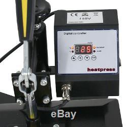 360 Degree T-Shirt Heat Press Sublimation Transfer Machine 12 x 10 Swing Away
