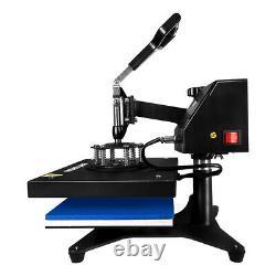 360° Swing Away Digital Heat Press Sublimation Machine Digital Transfer 12x9in