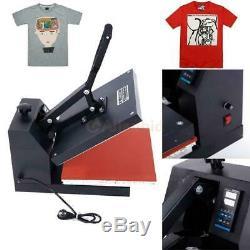 38 x 38 Clam shell Heat Press T-shirt Digital Transfer Sublimation Machine DIY