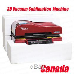 3D Heat Press Machine Sublimation INK Transfer Mug Plate Tile T-shirt Printing