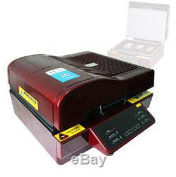 3D Heat Press Machine Vacuum Transfer Sublimation Printer for Mug T-Shirt Plate