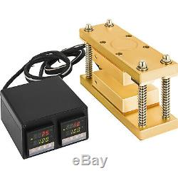 3x5 Rosin Press Caged Plate Kit-Pairs 10-12 Ton Hydraulic Rosin Heat Press