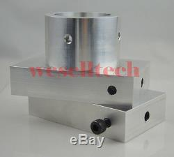 3x5 Rosin Press Plates Kit with heating rod Ship by DHL received in 5 days