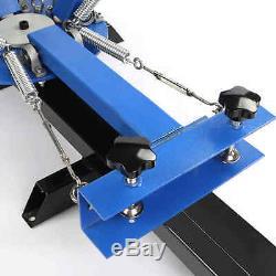 4 Color 1 Station Silk Screen Printing Machine Print Printer Wood Carousel Wood