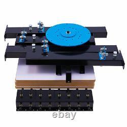 4 Color 4 Station Silk Screen Printing Machine T-Shirt Press Equipment DIY