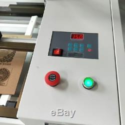 4040 50W CO2 laser engraver cutting machine desktop Acrylic glass cnc 400400mm