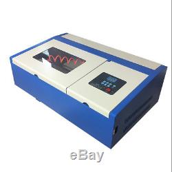 40W CO2 Laser Engraving Cutting Machine Laser Engraver Cutter 300x200mm USB