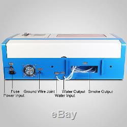 40W CO2 Laser Tube Laser Engraving Engraver Cutting Machine Laser cutter