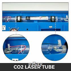 40W CO2 USB Laser Engraving Cutting Machine Engraver Cutter 12''X8' USB Port