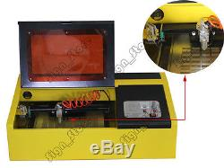 40W K40 Mini CO2 Laser Stamp Engraving Cutting Machine Laser Engraver Cutter USB