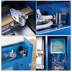 40W Laser Printer CO2 USB DIY Laser Engraver Cutter Engraving Cutting Machine