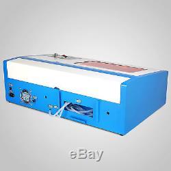 40W USB Laser Engraver Engraving Cutting Cutter Machine Support CAD & Coreldraw