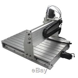 4Axis 6040T CNC Router Engraver USB Engraving Drilling Milling Machine 3D Cutter