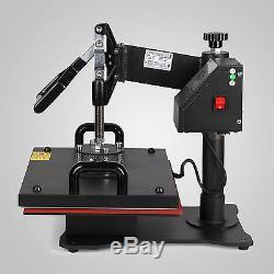 5 In 1 Digital Heat Press Machine Transfer Sublimation T-Shirt Mug Hat 15x12