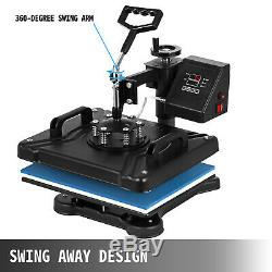 5 in 1 Combo Heat Press Transfer Sublimation T-Shirt+Jigsaw puzzle+Plate 15X12