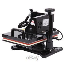 5 in 1 Digital T-Shirt Mug Hat Heat Press Machine Transfer Sublimation Printer