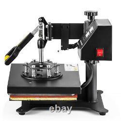 5 in 1 Heat Press Machine Digital Transfer Sublimation T-Shirt /Mug/Plate Hat