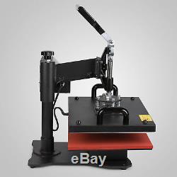 5 in 1 Heat Press MachineT-Shirt Mug Plate Cap Hat Digital Transfer Sublimation