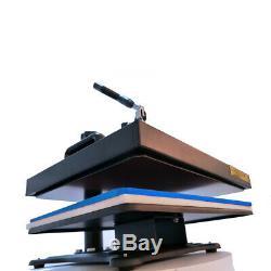 5 in1 Combo Heat Press Machine Swing Away Digital Sublimation T-shirt Mug Hat US