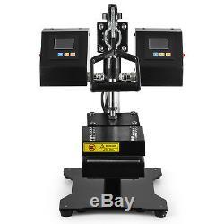 5 x 5 New Dual Heating Elements Manual Rosin Heat Press Machine 1200W