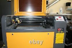 50 watt Laser Cutter/ Engraver 6040 (23-58x15-3/4) Ships from USA